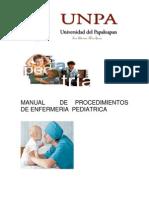 Manual de Procedimientos Corregido de Enfermeria Pediatrica