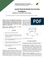 Informe Proyecto MEDIDOR