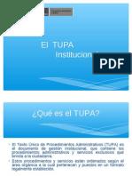 El  TUPA