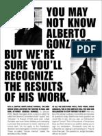 Alberto Gonzales Files - winwithoutwarus org-stop torture nyt ad