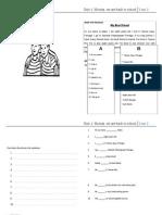 Worksheet Year 2 Topic 1