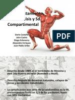 Aplastamiento, Rabdomiolísis y Sd
