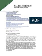 Manual Del Sacristan