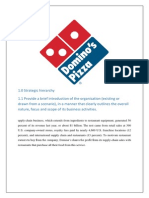 domino's assignment
