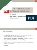 Conferencia - Recursos, Capacidades y Red de Valor - Arturo Herrera
