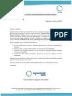 Circular N°1 - Llamado a Inscripción Economía Chilena