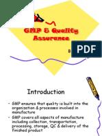 Gmp a Quality Assurance Msrppt