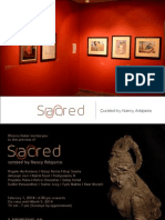 Sacred/Scared - Curated by Nanacy Adajania