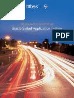 Oracle Siebel Application Testing