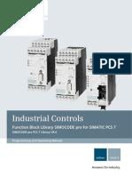 Manual Simocode Pro Pcs7 Library v80 en-US