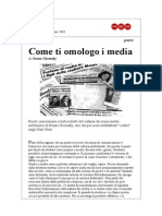 [eBook ITA] Noam Chomsky - Come Ti Omologo i Media