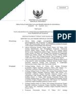 Permen No.78 Th 2012 Tata Kearsipan Pemda