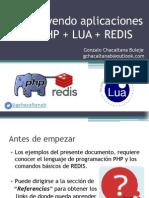 Construyendo Aplicaciones Con PHP + LUA + REDIS