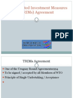 TRIMS Agreement
