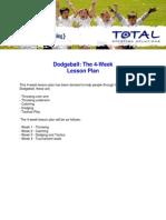 dodgeball lesson plans