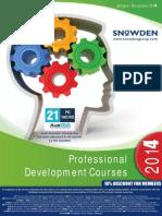 2014 SnowdenTrainingProgramme FINAL