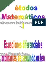 Ecuaciones Diferenciales Ordinarias de Segundo Orden Clase 131113.31753311