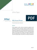 SQL Azure Primer