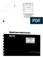 IP - Model Code of Safe Practice Pt15