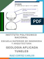 1.- Tipos de Tuneles - Ruiz Cortes Carlos