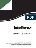 Manual Ts 40 Id c Se Espanhol 01 11 Site