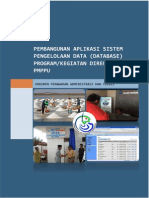 Web Base Aplikasi Sistem Pengelolaan Data Program Kegiatan PMPPU