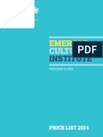 Emerald Price List 2014