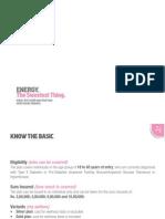 Energy Health Insurance Brochure