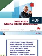 01 WCDMA RNO RF Optimization