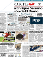 Periódico Norte edición impresa día 6 de marzo 2014
