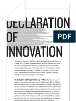 Declaration of Innovation