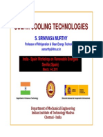 10 Solar Cooling Technologies S Murthy