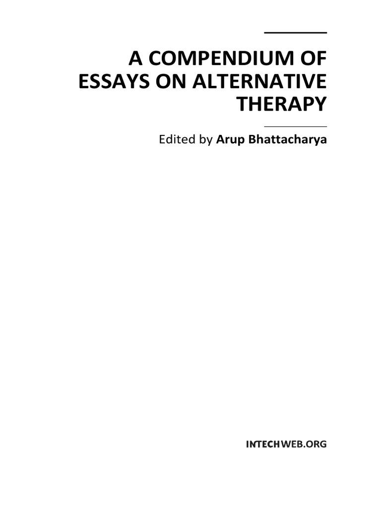 A Compendium of Essays on Alternative Therapy   Alternative Medicine    Traditional Chinese Medicine f0007ddb13ba