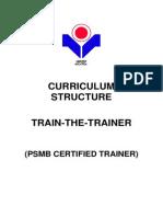 Psmb Certified Trainer Curriculum Structure(1)