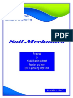 Soil Mechanics-lecture Notes With Cover