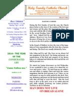 hfc march 9 2014 bulletin