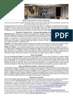 Bulletin de Jumaa Prayer  7 Mars 2014