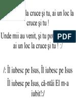 Ai Un Loc La Cruce Si Tu 1
