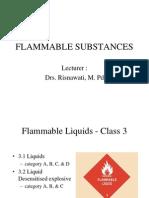 Flammables Substances