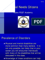 Special Needs Citizens PPT 0112