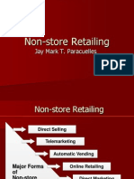 Non-Store Retailing, Retail Management and Trends in Retailing