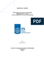 Thesis Proposal