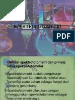 Presentasi Kimia Spektrofotometri Fix