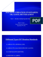Machine Vibration Standards - Part 3 - Absolute-Machine Specific