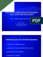 Machine Vibration Standards - Part 3 - Absolute-Machine Specific