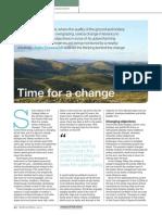 Changing upland land management. Piece in RICS Land Journal Spring 2014
