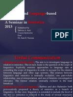 Language & Language Based Codes