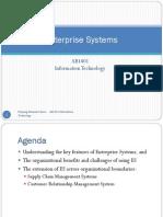 Seminar 9 - Enterprise Systems
