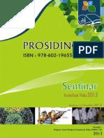 Prosiding Seminar Kontribusi Fisika 2013 (SKF2013)