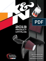 KN Filters Catalog